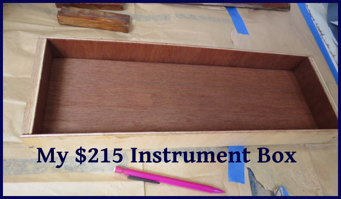 215 dollar instrument box
