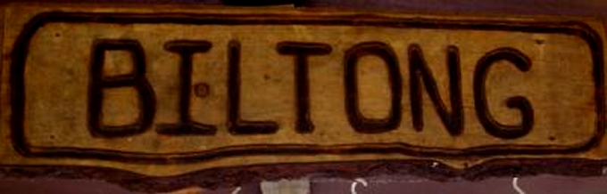 biltong sign in south africa