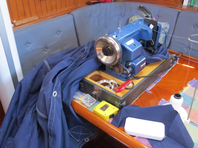 sail covers and sewing machines