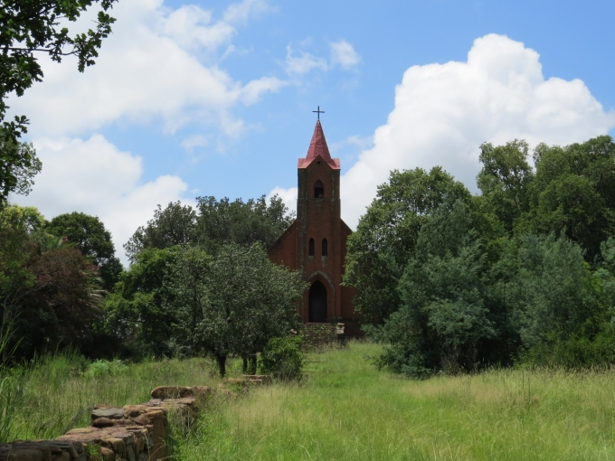 church at ndebele cultural village