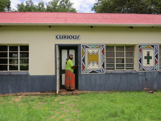 curious shop at ndebele