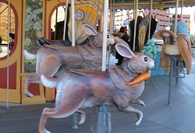 carousel bunnies
