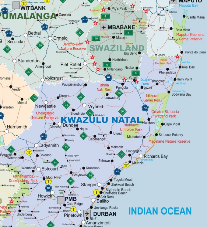 map of kwz
