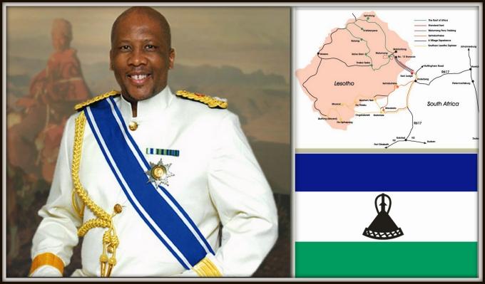 king letsie of lesotho