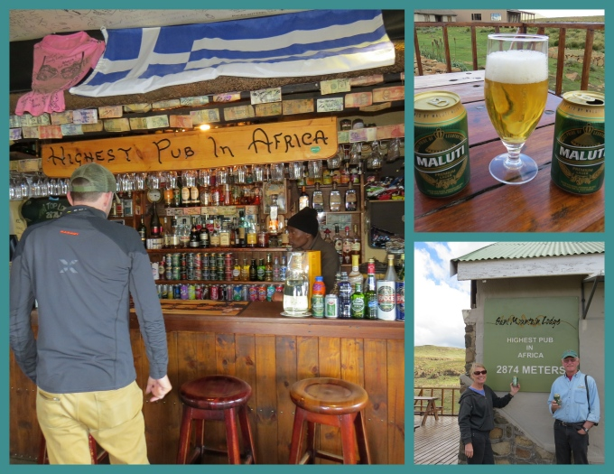 highest pub in africa in lesotho