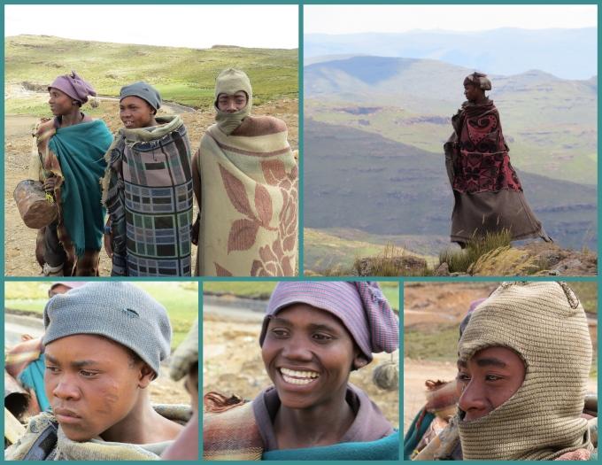 smiling shepherds in lesotho