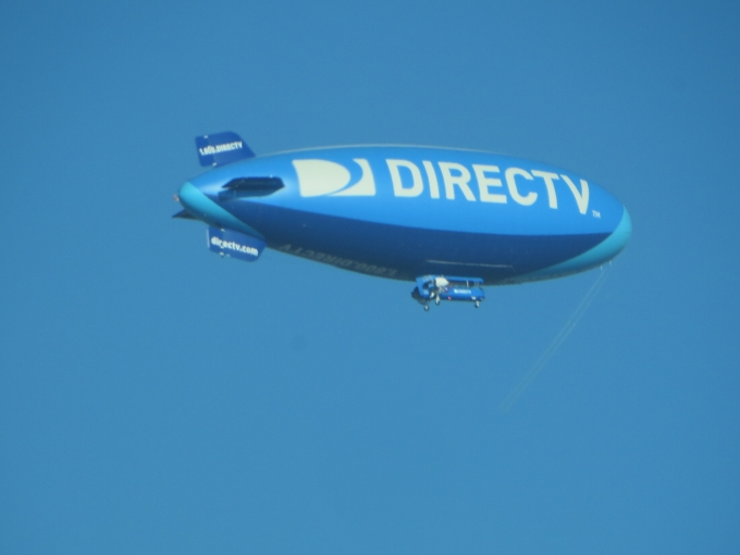 direct tv blimp