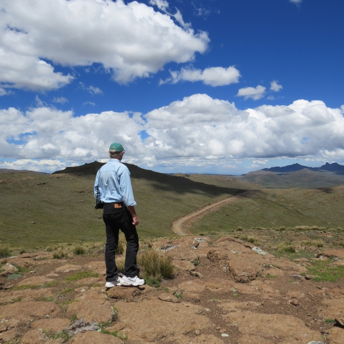 mountain view in lesotho