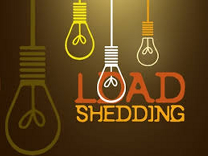 load shedding graphic