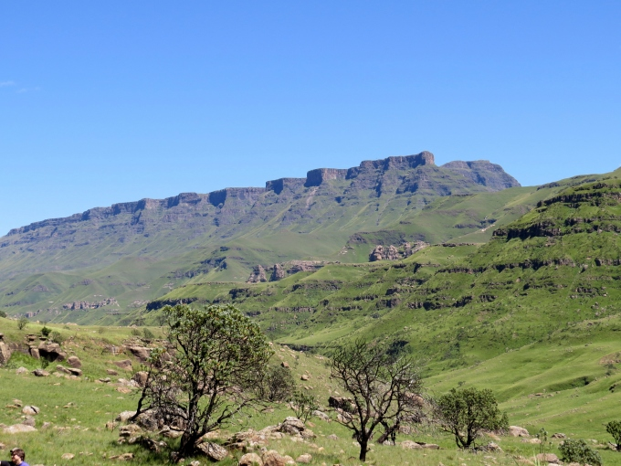 the twelve apostles at sani pass lesotho south africa