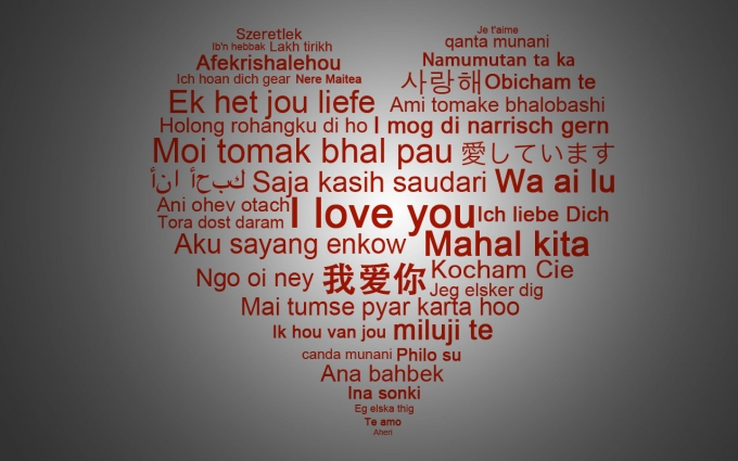 i love you in many languages