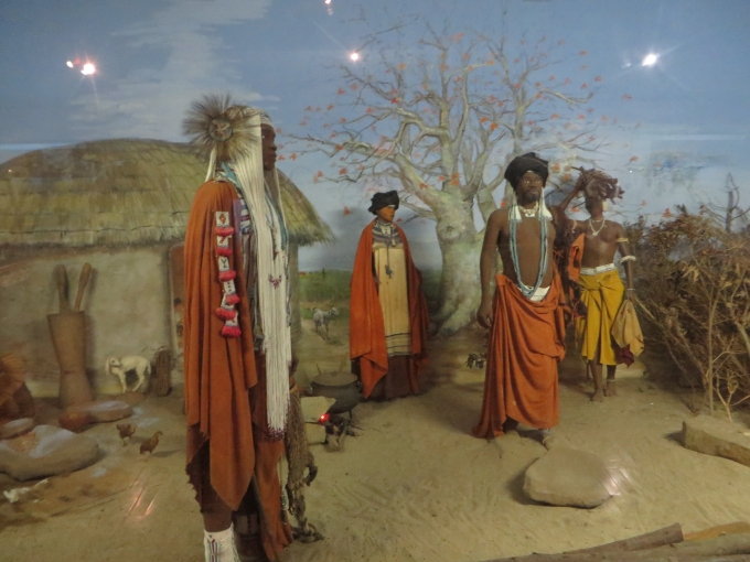 xhosa display at east london museum