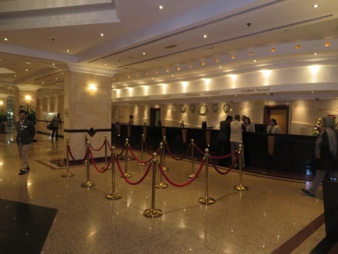 copthorne hotel lobby