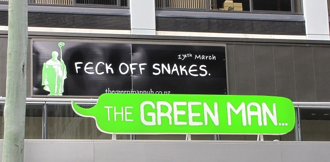 feck off snakes