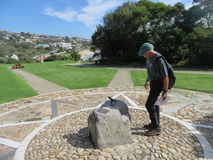 accurate sundial in mossel bay