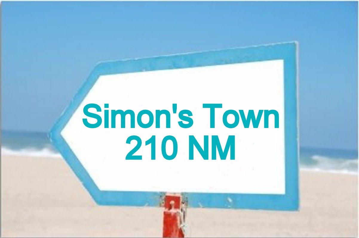 simons town 210 nm