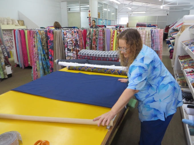 corne cutting fabric