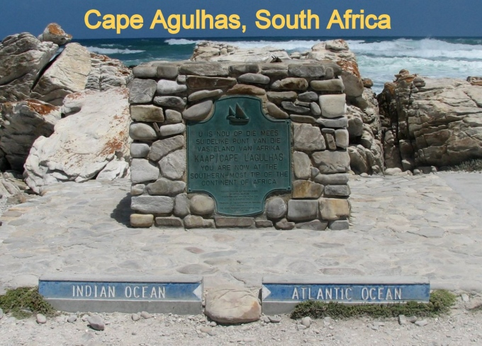 Cape Agulhas by day
