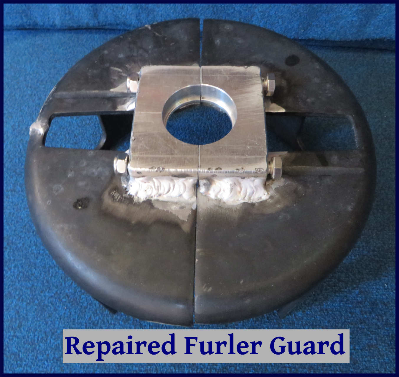 repaired furler guard