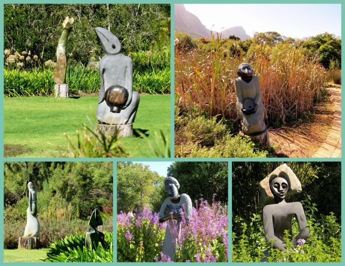 sculpture garden kirstenbosch botanic garden