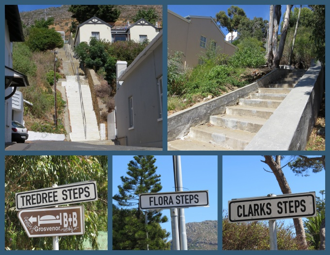 all the steps of simons town south africa