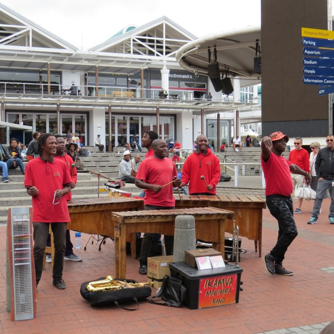 v&a buskers cape town south africa