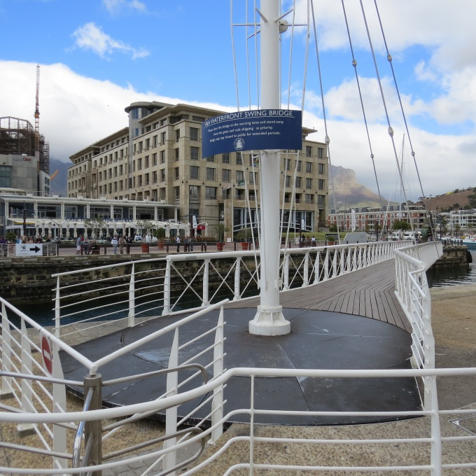 v&a swing bridge cape town south africa