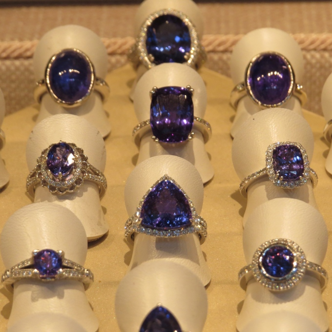 v&a tanzanite rings cape town south africa