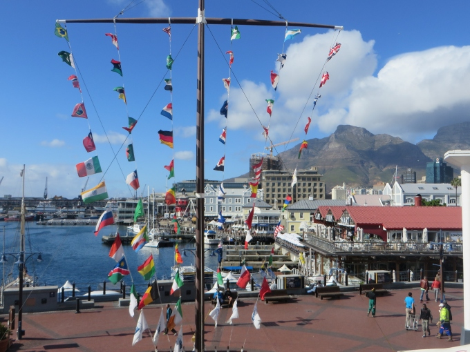 v & a waterfront view cape town south africa