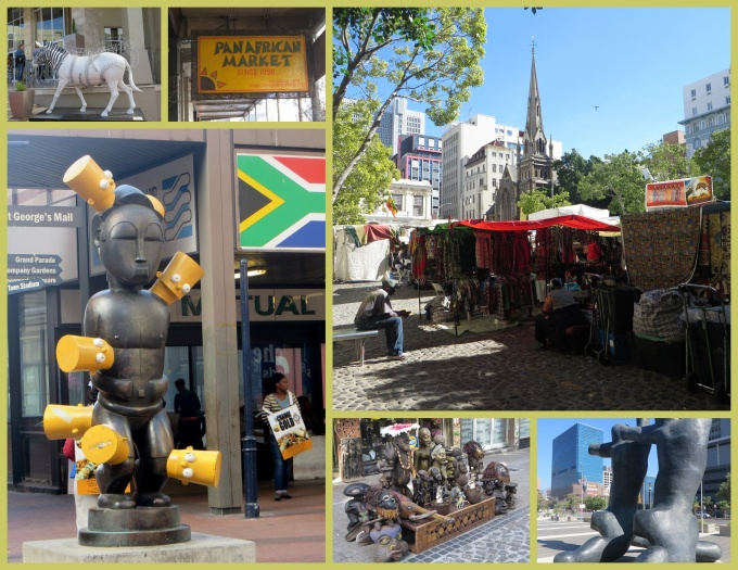 walk around cape town south africa