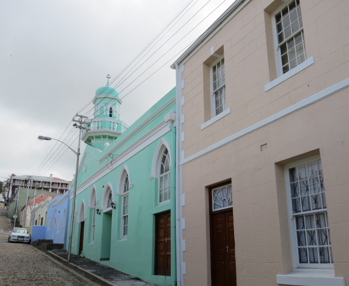 mosque in bo kaap