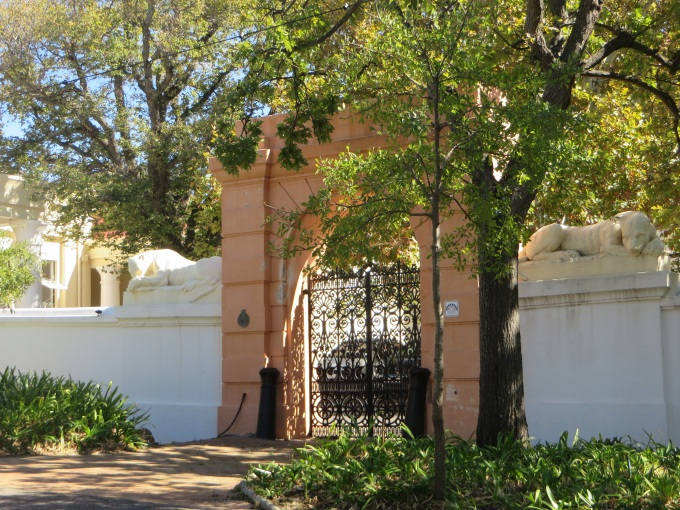 lioness gate companys garden cape town south africa