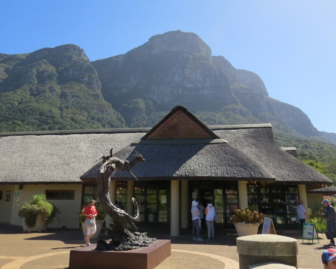 kirstenbosch botanic garden visitors center