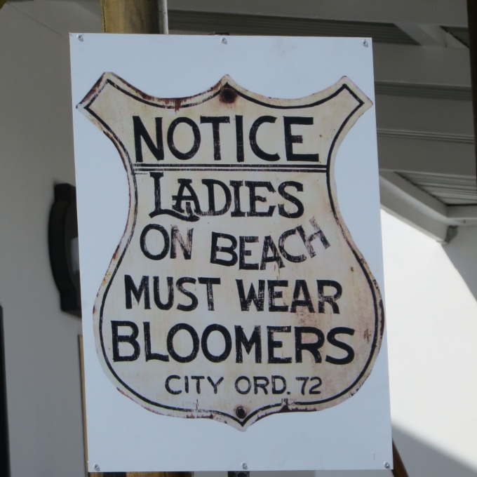 ladies must wear bloomers