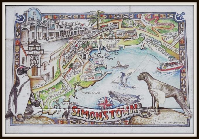 map of simon's town