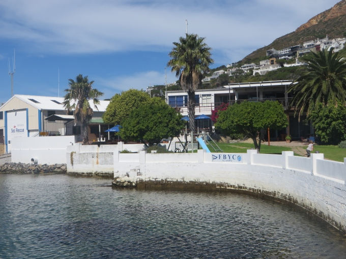 yacht club at simons town south africa
