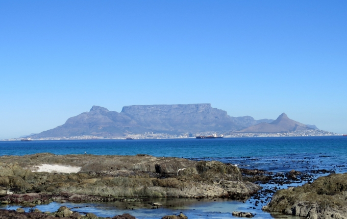 view of table mountain south africa