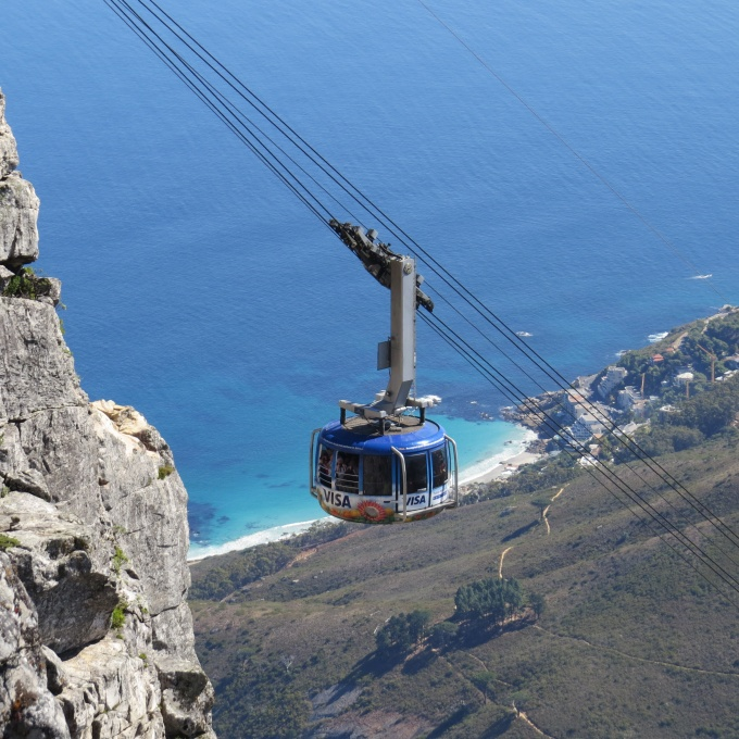 cable car table mountain cape town south africa