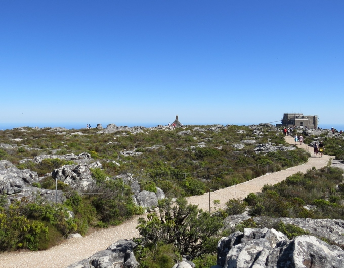 top of table mountain cape town south africa