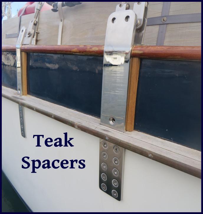 teak spacers