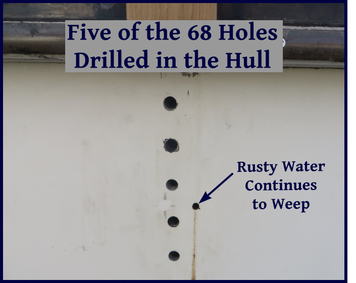 holes in the hull