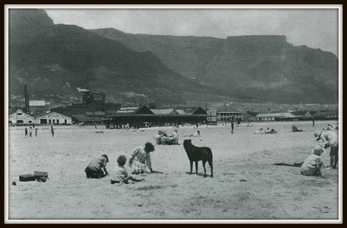 woodstock beach in the 1940s