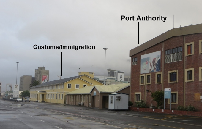 customs and immigration cape town south africa