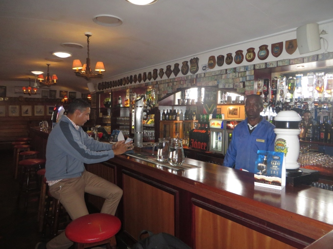 the men's bar