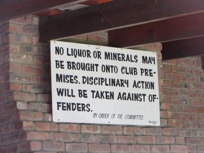 no minerals