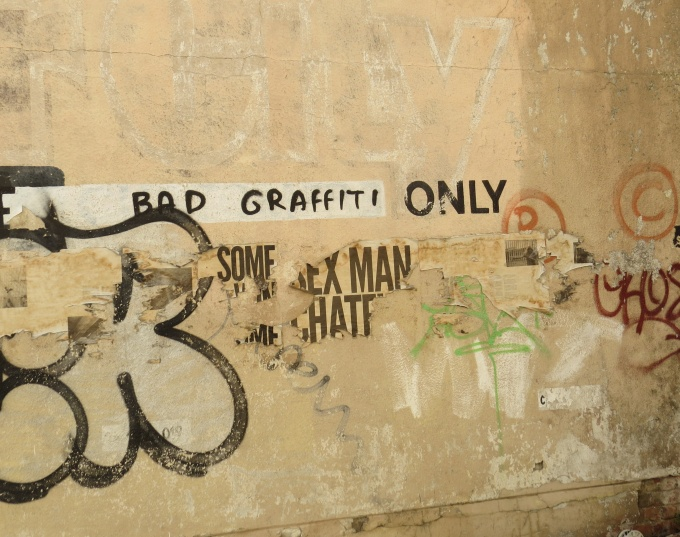 bad graffiti only