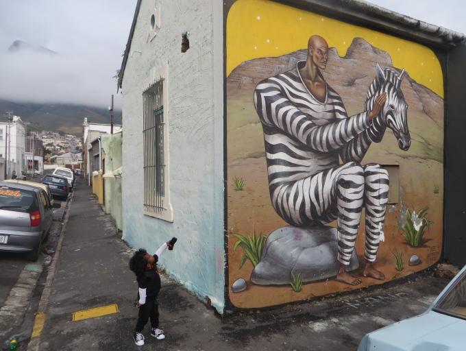 zebra suit