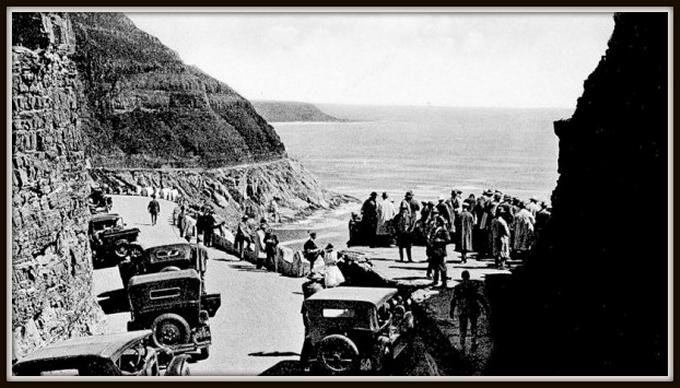 chapman peak drive in 1922