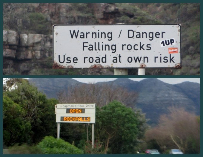 warning rockfalls