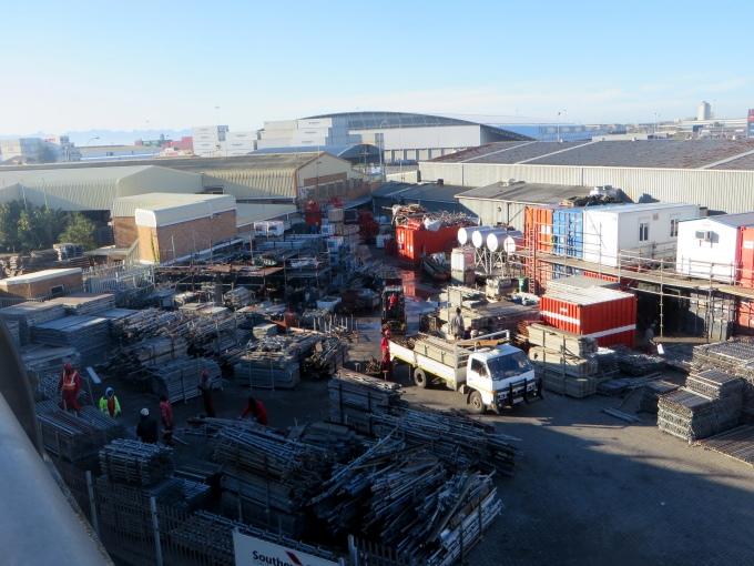 scaffolding yard